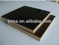 High Quality 12mm 15mm 18mm Poplar Core Film Faced Shuttering Plywood For Building Construction Use
