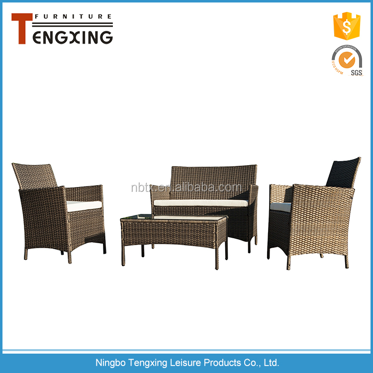 Modern dining set Rattan affordable outdoor furniture