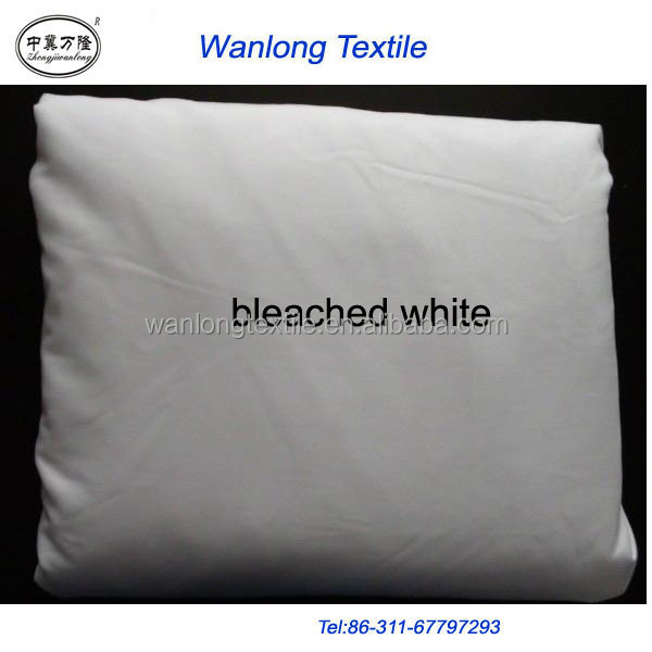 Hotel Bedsheet Fabric/ Cotton White Fabric 200 Thread Count