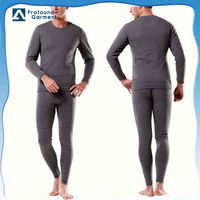 Winter men women thermal underwear fleece t-shirt suit for new
