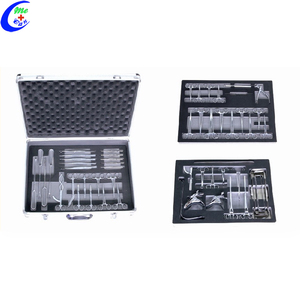 Surgical Obstetrics And Gynecology Delivery Instruments Set