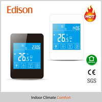 Touch screen electric radiant ceiling heat /floor heating thermostat