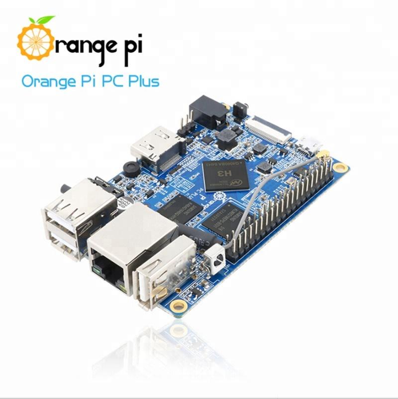 Orange Pi PC Plus Support Lubuntu linux and android mini PC Beyond Raspberry Pi 2 Good Orange Pi