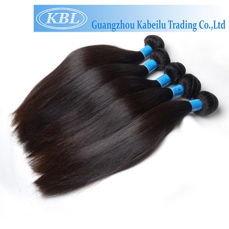 Kbl Hair No Shedding Permanent Hair Weavingstraight Virgin Hair