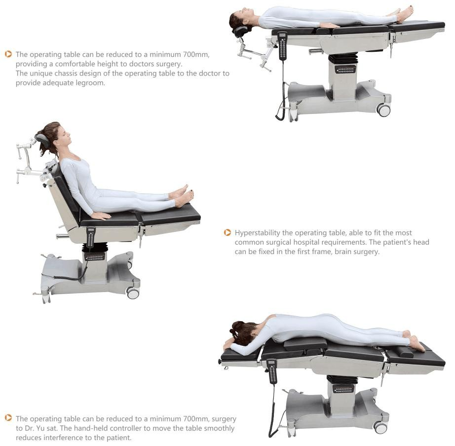 Multifunction new price surgical Operation table hospital equipment medical