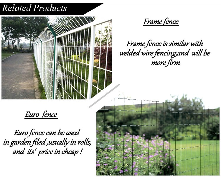 Decorative Pvc Coated Green Metal Fence Panel For Garden Fence - Buy ...
