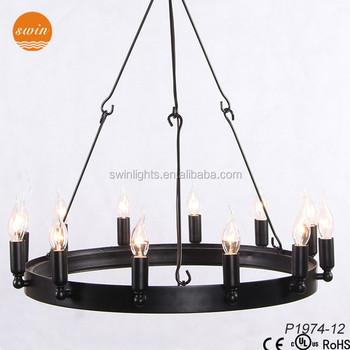Camino vintage candelabra round black iron chandelier with ulce camino vintage candelabra round black iron chandelier with ulce p1974 12 mozeypictures Choice Image