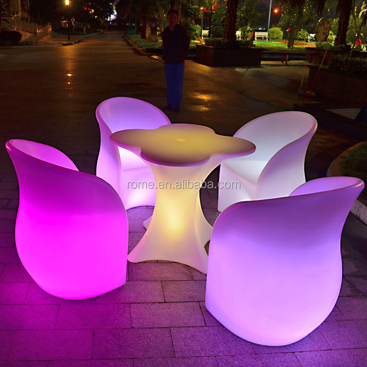 Waterproof Outdoor Glowing Led Light Up