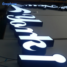 Outdoor led company signboard