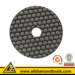 Dry Granite Marble Floor Polishing Pads for Angle Grinder