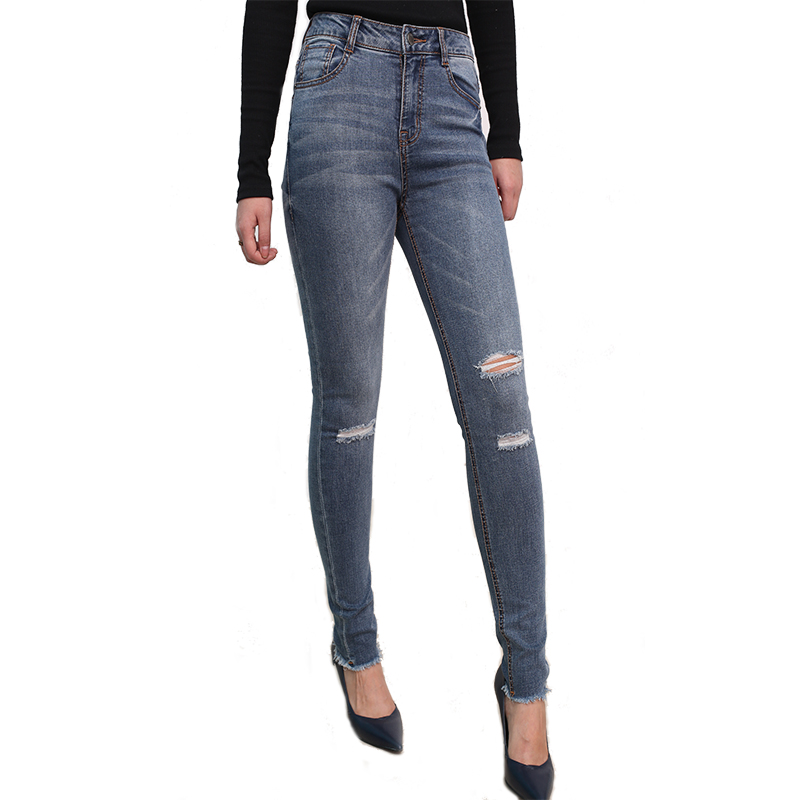df5fd53a4dc Huade CDK518 High Quality Summer women cropped jeans pants ladies ripped  jeans