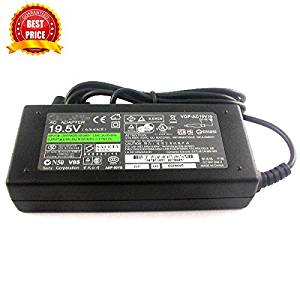 Sony Original VIAO 19.5V 4.7A 90W AC Adapter For Sony Vaio VGN-FW Series: VGN-FW530, VGN-FW530F, VGN-FW530F/B, VGN-FW530F/H, VGN-FW510, VGN-FW510F, VGN-FW510F/B, VGN-FW510F/H, VGN-FW510F/T, VGN-FW518, VGN-FW518F, VGN-FW518F/B, VGN-FW518F/H, VGN-FW520, VGN-FW520D, VGN-FW520D/T,