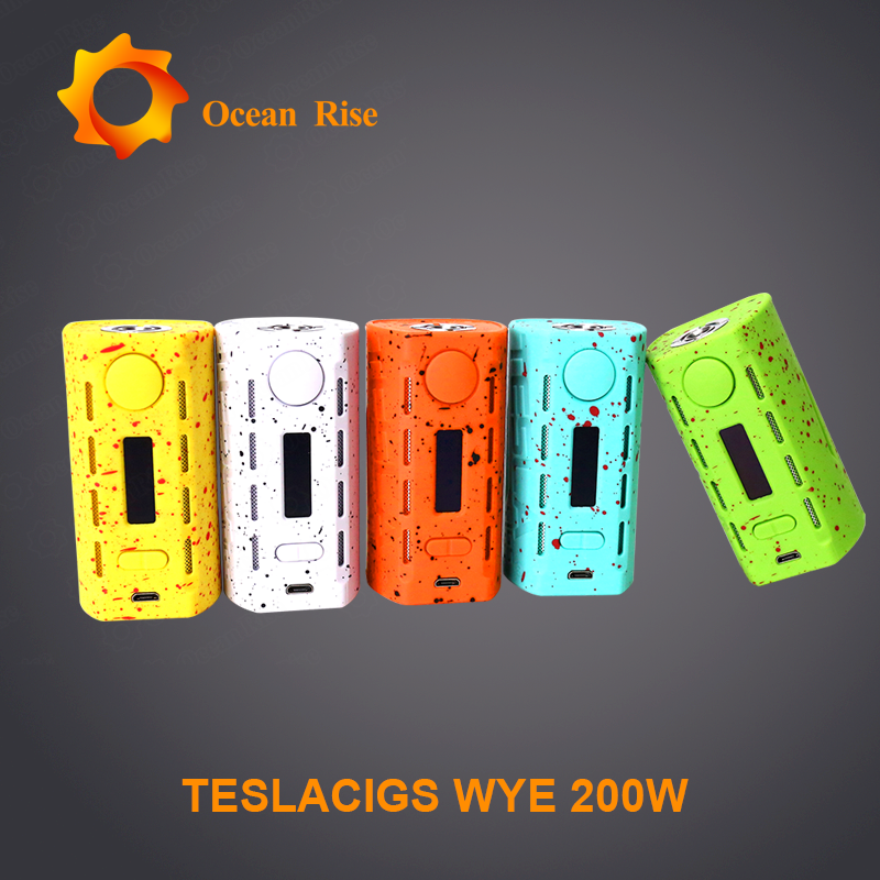 Tesla best selling popular vapour mod WYE 200w with rhombus radiating design price in india