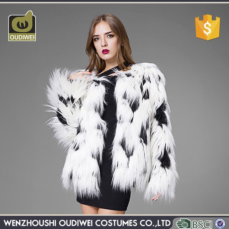 Top selling custom design fur coat woman with good offer