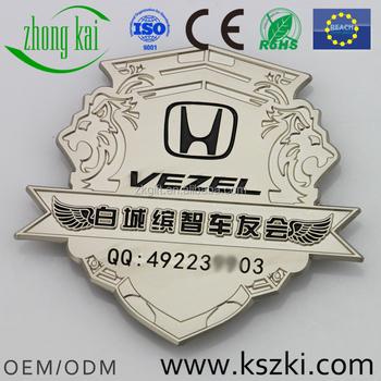 White City Bz Car Club Metal Car BadgeCar Logos With NamesArt - Car sign with namescustom car logodie casting abs car logos with names brand emblem