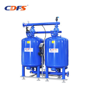 industry 900mm height deep media water filter machine