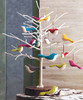 2018 new fashion hotsale cheap wholesale handmade kid gift hanger knitted craft felt Christmas tree ornament birds make in China