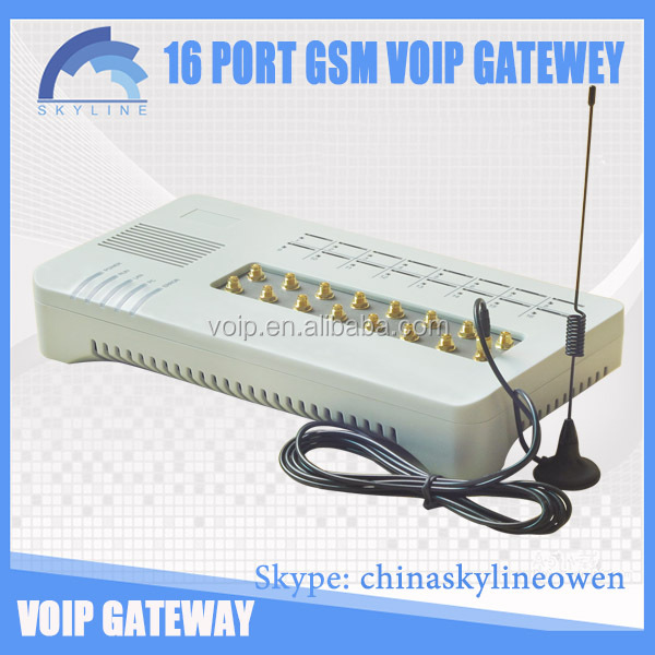 adsl modem with voip Goip 16 voip equipment