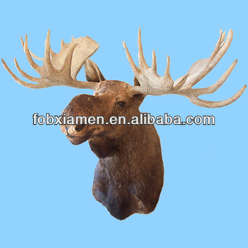 Truly Massive Wholesale Home Decor Artificial Wall Mounted Deer Head