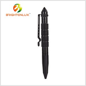 EDC Outdoor Metal Emergency Light Led Tactical Pen Flashlight