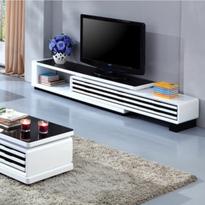 China suppliers custom white high gloss rooms to go tv stands home goods made in china