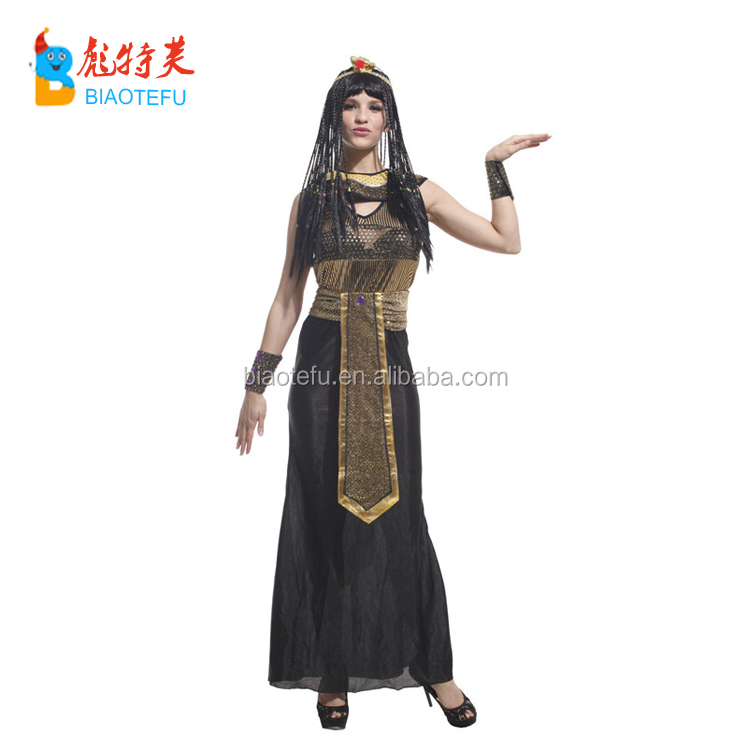 Halloween Costumes Women Ancient Egypt Egyptian Pharaoh Cleopatra Princess Queen Costume adult Cosplay Clothing