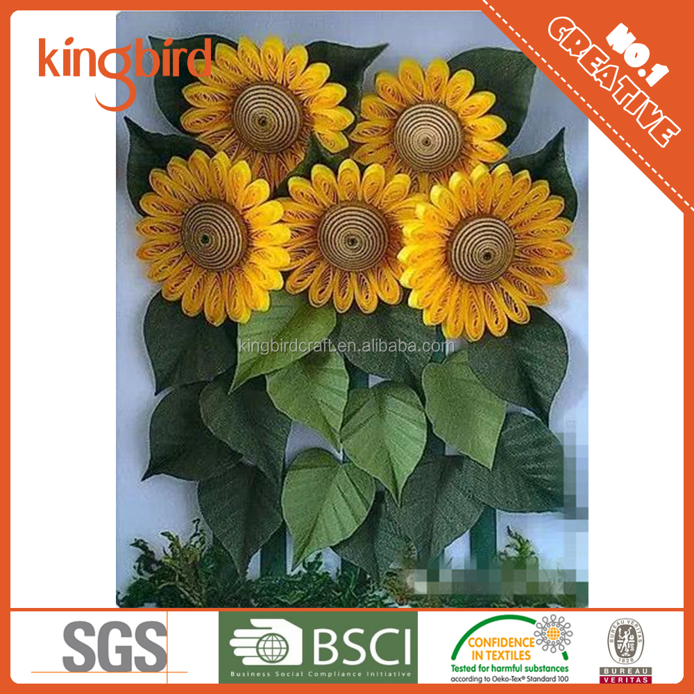 Popular Diy Sunflower Paper Quilling Flower Patterns Buy Paper