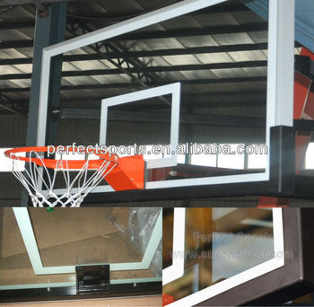 Clear View Basketball Backboard