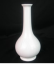 Chinese Moderne Bal Vormige Home Decoratieve Witte Elegante Porselein <span class=keywords><strong>Bloemenvaas</strong></span>
