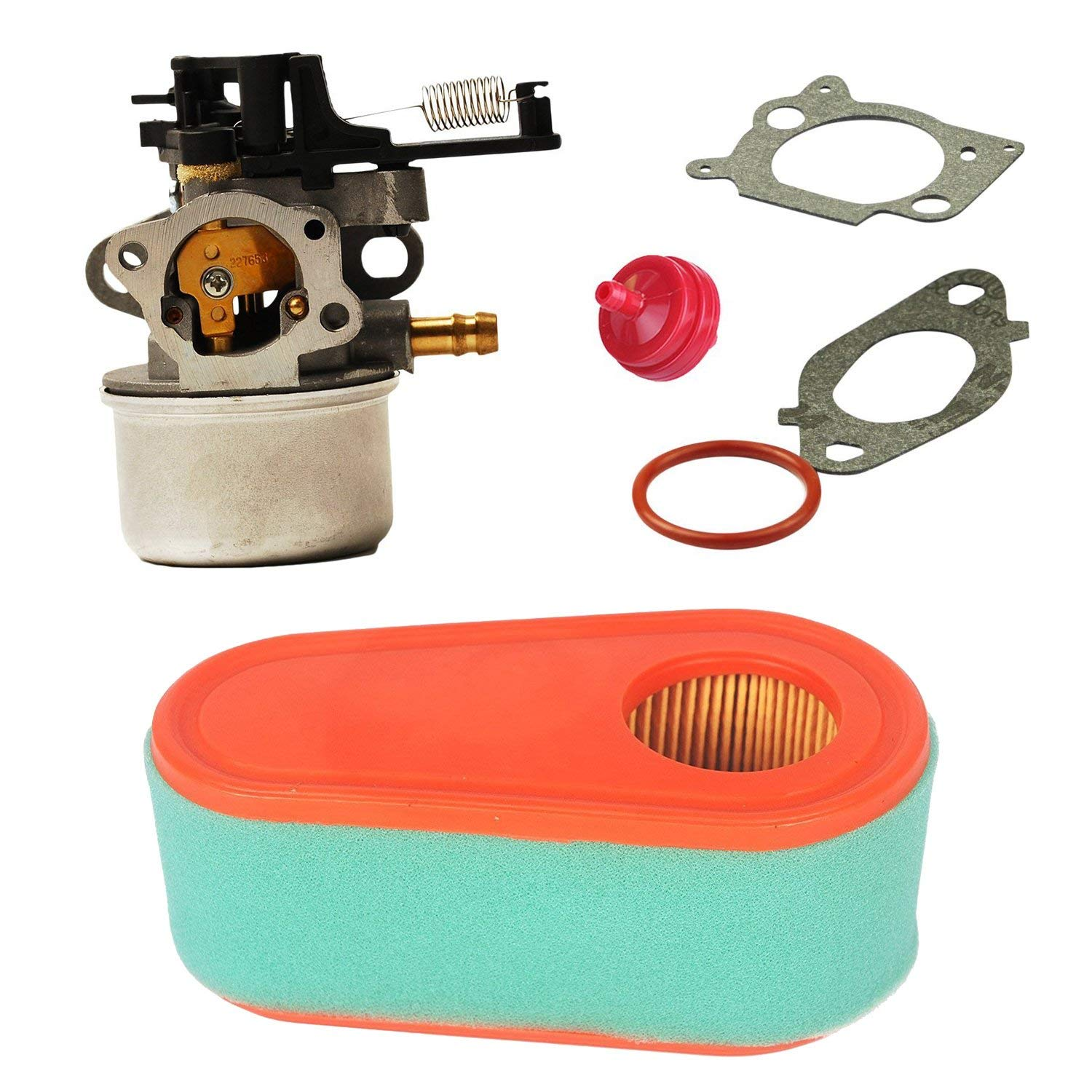 HIFROM Carburetor Carb Replace Air Filter Pre-filter Gasket For Briggs & Stratton 591137 590948?