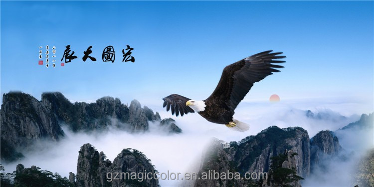 dapeng wings on the moutain picture decoration home wall wallpaper