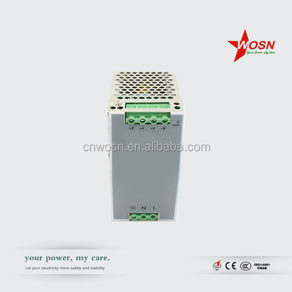 Reliable Quality CE RoHS 24v 120w auto switching power source