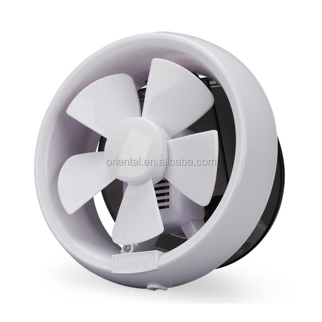 Plastic Round Bathroom Exhaust Fan