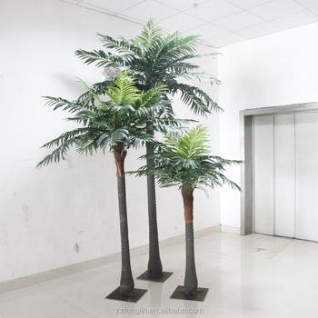 3pcs One Set Fake Coconut Tree Factory Direct Cheap Artificial ...