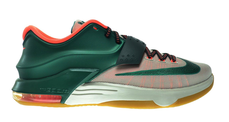 "Nike KD VII ""Easy Money"" Men's Shoes Mystic Green/Mystic Green-Light Brown-Gum 653996-330 (10 D(M) US)"