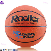 lenwave brand women basketball ball custom colorful rubber basketball