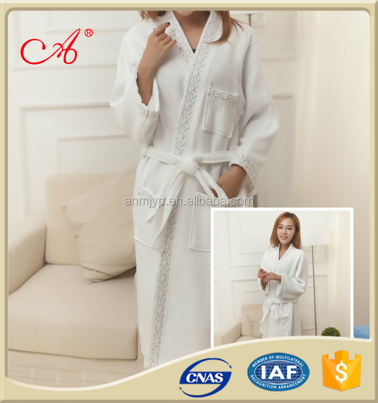 China supplier 100% cotton girls terry bathrobe