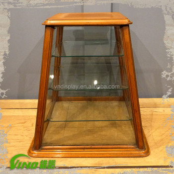 Solid Wood Counter Top Antique Jewellery Display Cabinet,Vintage 3 ...