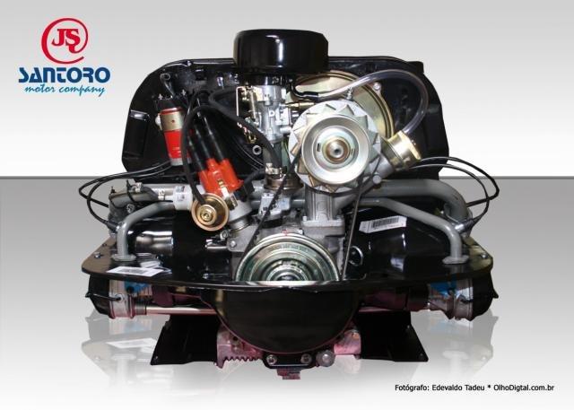 Novo Vw 1600 Motor Completo Suportes De Motor Id Do