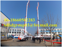 32m Small Concrete Boom Pump On Truck,China Best Price 32m ...