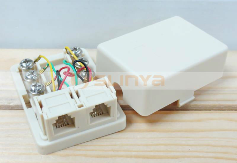 Rj11 Waterproof Telephone Distribution Box Telephone Cable Junction Box