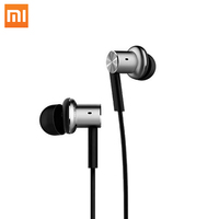 Xiaomi Mi Pro Multi-unit Circle Iron In-Ear Headphones with Mic Voice Control Triple Driver hybrid