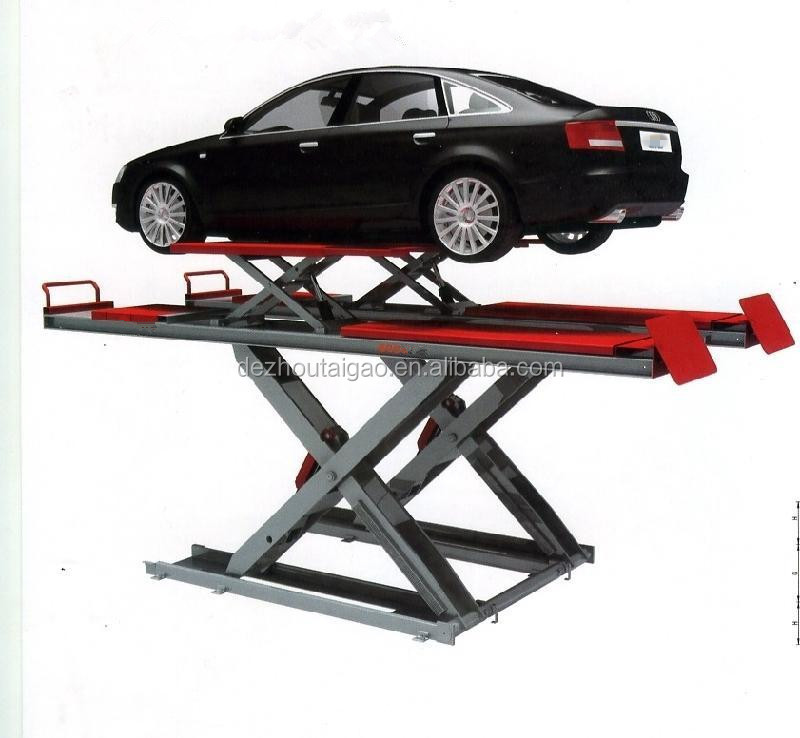 TAIGAO Hydraulic Scissor 4 Wheel Alignment Lifting Capacity 3500kg Car Lift
