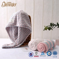 Factory Directly Sell hair towel 6 pack prints headband with best quality