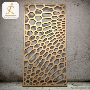 Style Design Sandblasted Wire Screen