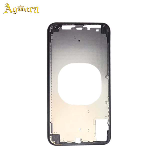 Custom-made Real gold plating Middle Frame for iPhone XR