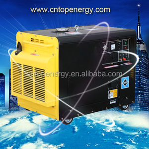 50HZ 240V Kipor 5kw Auto Start Silent portable Diesel Generator 7.5kw with Digital Panelto Australia