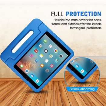 China supplier cheap kids soft eva foam shock proof handy shell case cover for iPad 9.7 inch 2017 tablet