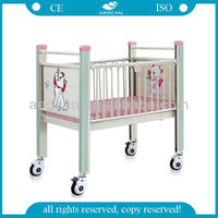 AG-CB004 jiangsu Hospital kids bed with slide