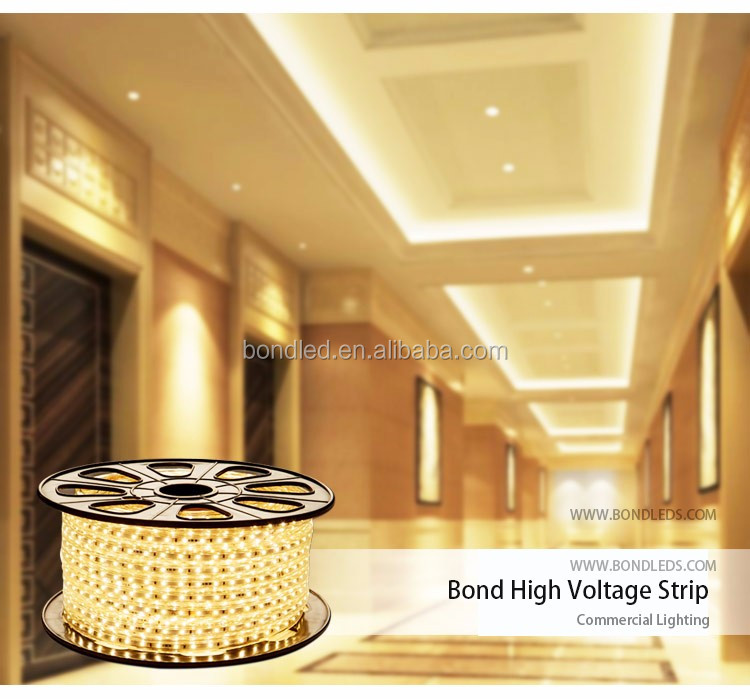 High Voltage 230V Led Strip with 72pcs SMD2835 Led for T5/T8 Tube tissue culture date palm